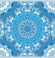 festival art seamless mandala pattern vector image vector image
