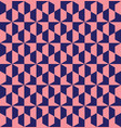 geometric grid seamless pattern design vector image