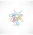 Paper clip vector image