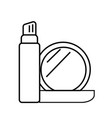 cosmetic icon vector image