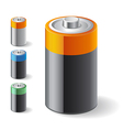 Battery icons vector | Price: 1 Credit (USD $1)