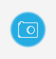 camera icon sign symbol vector image vector image