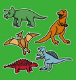 collections dino patches good for your clothes vector image