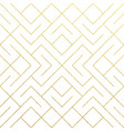 golden abstract geometric pattern tile background vector image vector image