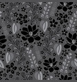 lavender plumeria and magnolia-flowers in bloom vector image