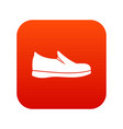 shoes icon digital red vector image vector image