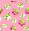 sweet berry seamless vector image vector image