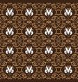 unique pattern for indonesian batik clothes vector image vector image