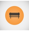 vintage benches for parks and streets vector image