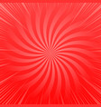 abstract red shiny template vector image