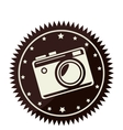 camera photographic retro style vector image vector image