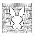 Chinese zodiac sign Rabbit vector image vector image