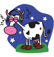 Cow Music vector image