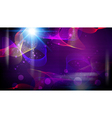 Futuristic abstract fantasy glowing background vector image