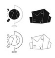 goods and cargo logo set vector image vector image