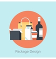 Package Design vector image vector image