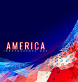 stylish 4th of july design vector image vector image