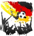 world cup Germany vector image vector image