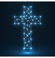 Abstract cross Christian Symbol vector image vector image