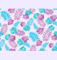 beautiful seamless floral pattern spring vector image