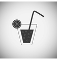 Drink wood application icons vector image vector image