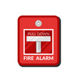 fire alarm system pull danger safety box