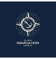 Inspirational themplate of Nautical Style Logo