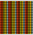 pattern with color circles vector image