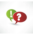Question mark and exclamation point vector | Price: 1 Credit (USD $1)
