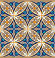 seamless texture mosaic patchwork ornament vector image vector image