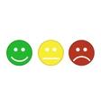 Smiley emoticons icon vector image vector image