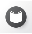 textbook icon symbol premium quality isolated vector image