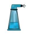 water splash bottle vector image vector image