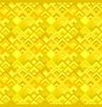 yellow abstractal diagonal square tile mosaic vector image vector image