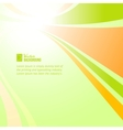 Colorful background with abstraction vector image