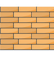 brick wall seamless pattern - brickwork background vector image vector image