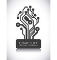 circuit design vector image
