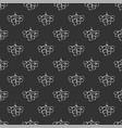 floral seamless pattern unique delicate design vector image vector image