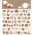 food icon5 vector image vector image