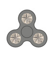 hand spinner isolated vector image vector image