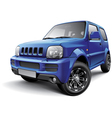 japanese off road mini suv vector image vector image