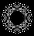 mandala aboriginal dot painting design vector image vector image