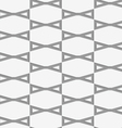 Perforated bows in grid vector image vector image