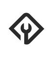 repair symbol logo icon vector image