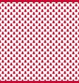 seamless simple geometrical xmas tree pattern vector image vector image