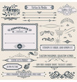 Vintage calligraphic design vector | Price: 1 Credit (USD $1)