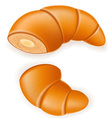 croissant 09 vector image