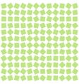 abstract background from green squares vector image vector image