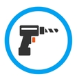 Drill Rounded Icon vector image vector image