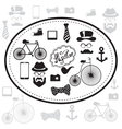 Hipster and retro style icon set vector image vector image